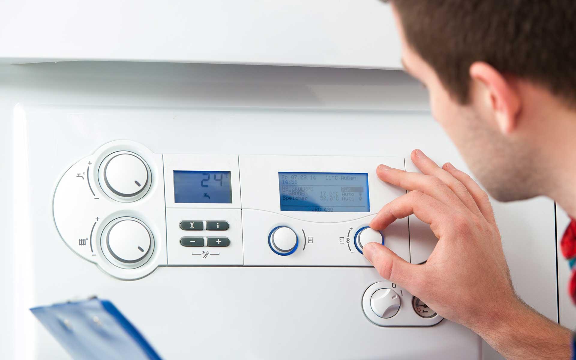 Installation chaudière à condensation