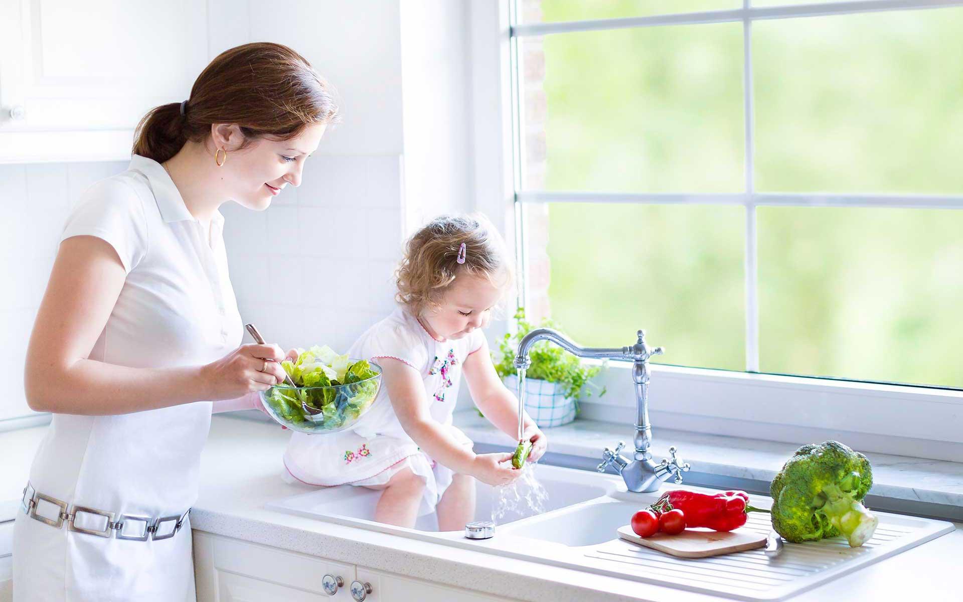 maman heureuse eau douce